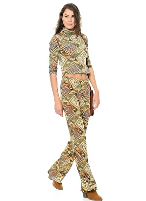 Motel Rocks Pantolon Kadın – Trend – X – Dokuma – Pantolon